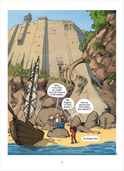 Page 3 les enfants d'ailleurs - tome 3 - le maitre des ombres