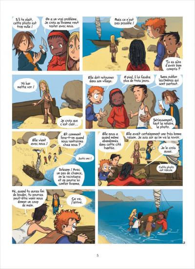 Page 5 les enfants d'ailleurs - tome 3 - le maitre des ombres