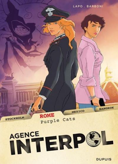 image de agence Interpol tome 3 - Rome
