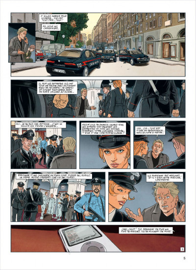 Page 5 agence Interpol tome 3 - Rome
