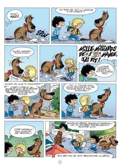 Page 4 Cédric - best of tome 4 - feu aux trousses!