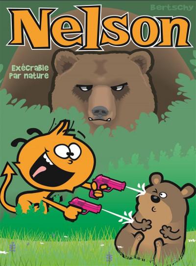 Couverture Nelson tome 15 - exécrable par nature
