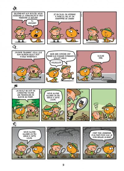 Page 3 Nelson tome 15 - exécrable par nature