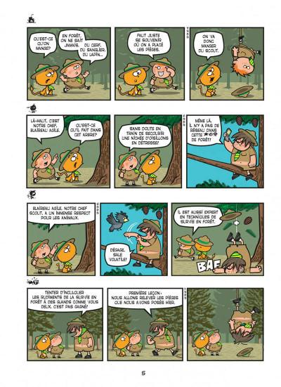 Page 5 Nelson tome 15 - exécrable par nature
