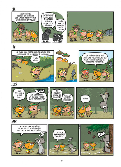 Page 7 Nelson tome 15 - exécrable par nature