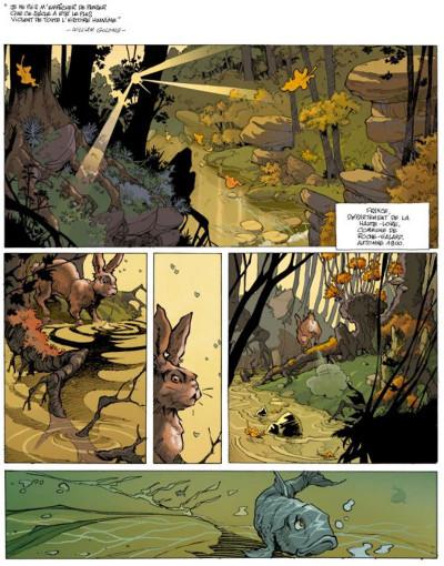 Page 1 amère patrie tome 1 - nouvelle édition