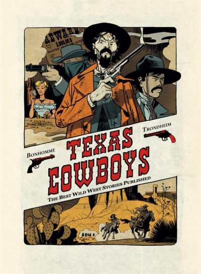 Couverture Texas cowboys ; the best wild west stories published