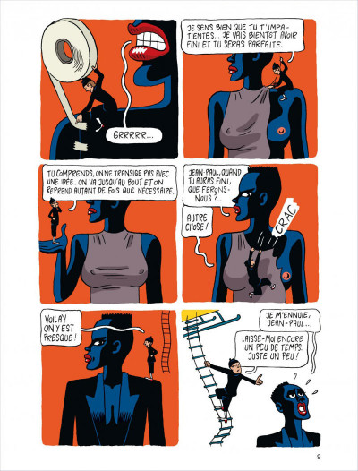 Page 9 Jean-Paul Goude ; la jungle des images