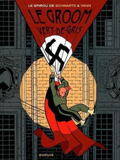 Couverture Spirou et Fantasio tome 5 - le groom vert-de-gris