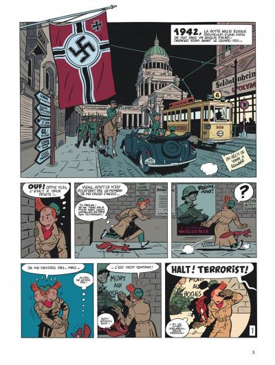 Page 3 Spirou et Fantasio tome 5 - le groom vert-de-gris