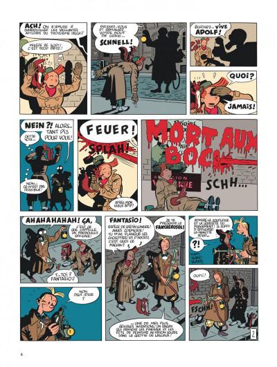 Page 4 Spirou et Fantasio tome 5 - le groom vert-de-gris