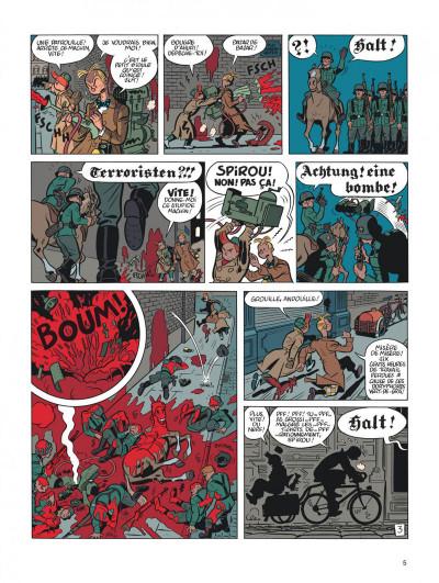 Page 5 Spirou et Fantasio tome 5 - le groom vert-de-gris