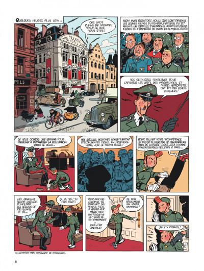 Page 8 Spirou et Fantasio tome 5 - le groom vert-de-gris