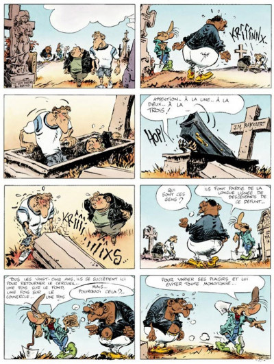 Page 1 Pierre Tombal tome 24 - on s'eclate, mortels !