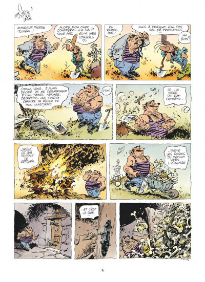 Page 4 Pierre Tombal tome 24 - on s'eclate, mortels !