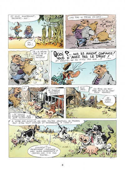 Page 8 Pierre Tombal tome 24 - on s'eclate, mortels !