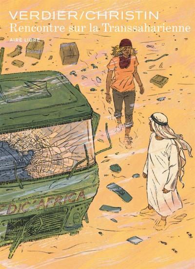 Couverture rencontre sur la transsaharienne tome 1