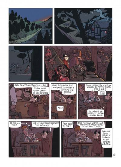Page 8 le royaume tome 5 - les armes de maître Marcel