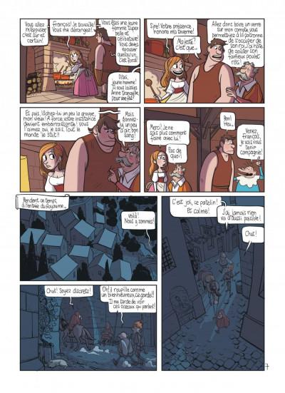 Page 9 le royaume tome 5 - les armes de maître Marcel