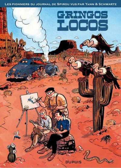 Couverture Gringos locos tome 1