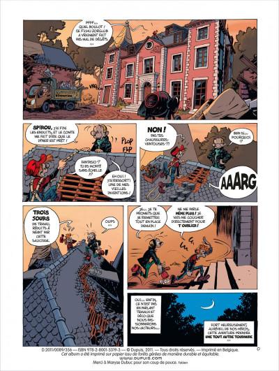 Page 2 Spirou et Fantasio tome 52 - édition de luxe