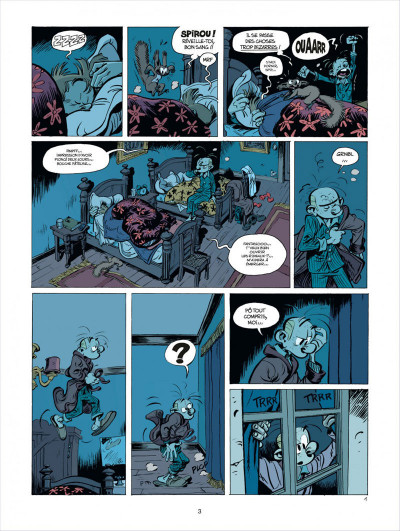 Page 3 Spirou et Fantasio tome 52 - édition de luxe
