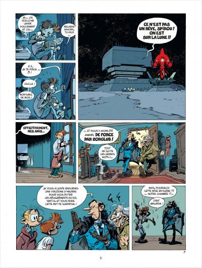 Page 5 Spirou et Fantasio tome 52 - édition de luxe