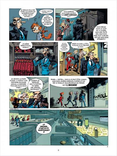 Page 6 Spirou et Fantasio tome 52 - édition de luxe