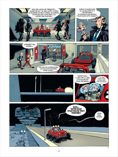 Page 8 Spirou et Fantasio tome 52 - édition de luxe
