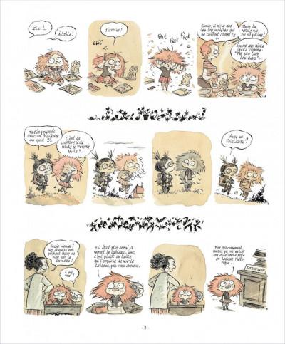 Page 2 zizi chauve-souris  tome 1 - cheveux rester