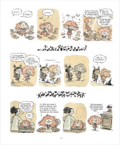 Page 3 zizi chauve-souris  tome 1 - cheveux rester