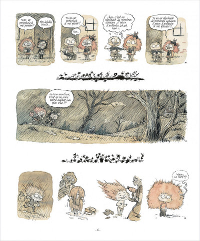 Page 6 zizi chauve-souris  tome 1 - cheveux rester