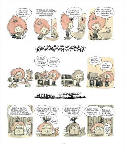 Page 7 zizi chauve-souris  tome 1 - cheveux rester
