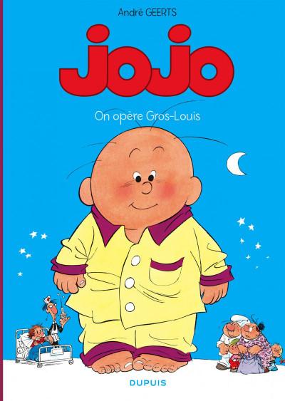 Couverture Jojo tome 3 - on opère Gros-Louis