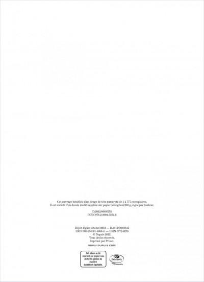 Page 1 Jérôme K. Jérôme Bloche tome 23