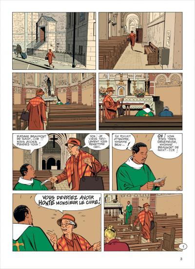 Page 3 Jérôme K. Jérôme Bloche tome 23