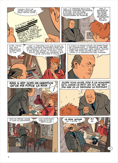 Page 4 Jérôme K. Jérôme Bloche tome 23