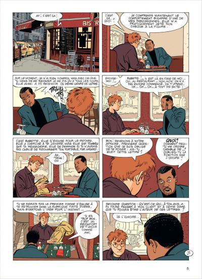 Page 5 Jérôme K. Jérôme Bloche tome 23