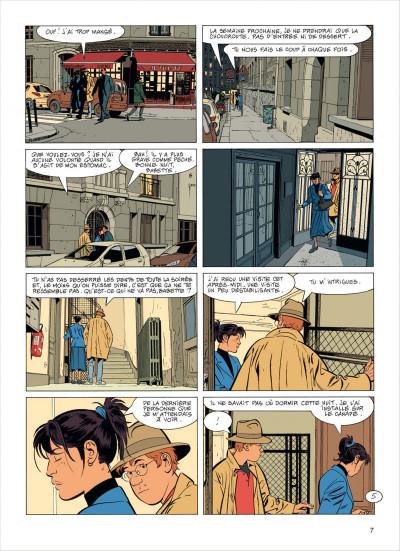 Page 7 Jérôme K. Jérôme Bloche tome 23
