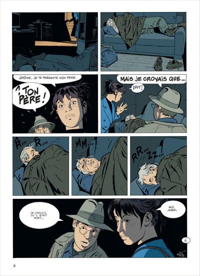Page 8 Jérôme K. Jérôme Bloche tome 23