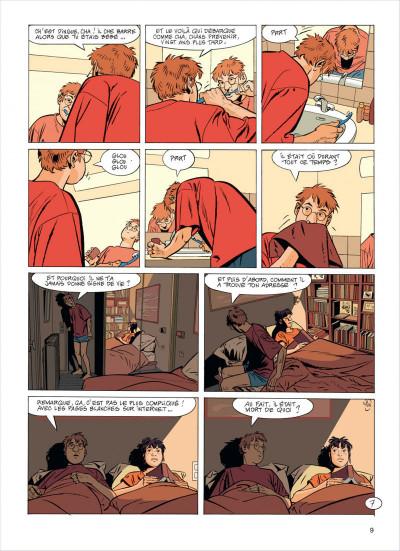 Page 9 Jérôme K. Jérôme Bloche tome 23