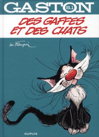Couverture Gaston - hors-série tome 1 - des gaffes et des chats