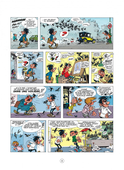 Page 8 Gaston - hors-série tome 1 - des gaffes et des chats