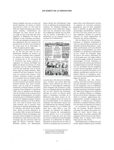 Page 4 Gaston - En direct de la rédaction