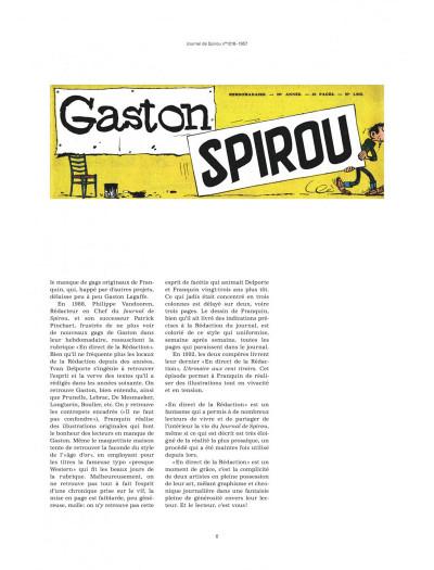 Page 5 Gaston - En direct de la rédaction