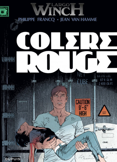 Couverture Largo Winch tome 18 - colère rouge