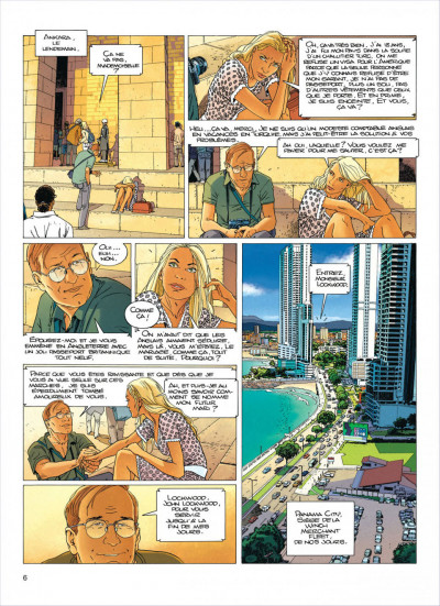 Page 5 Largo Winch tome 18 - colère rouge