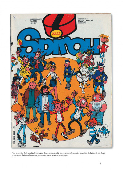 Page 5 Spirou et Fantasio - intégrale tome 12 - 1980-1983