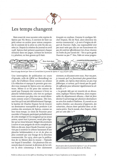 Page 7 Spirou et Fantasio - intégrale tome 12 - 1980-1983