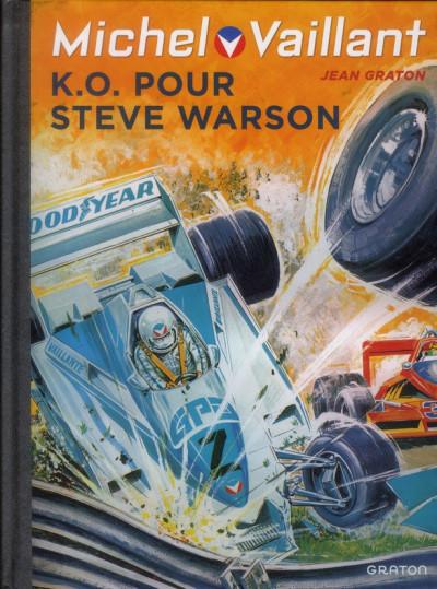 Couverture Michel Vaillant tome 34 - K.O. pour Steve Warson